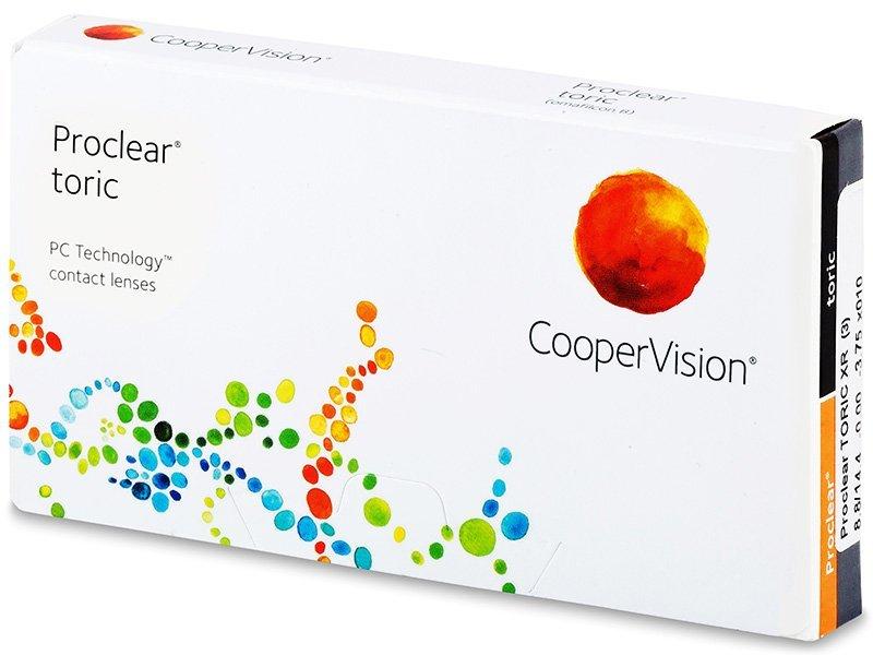Torične kontaktne leče - Proclear Toric XR (3leče)