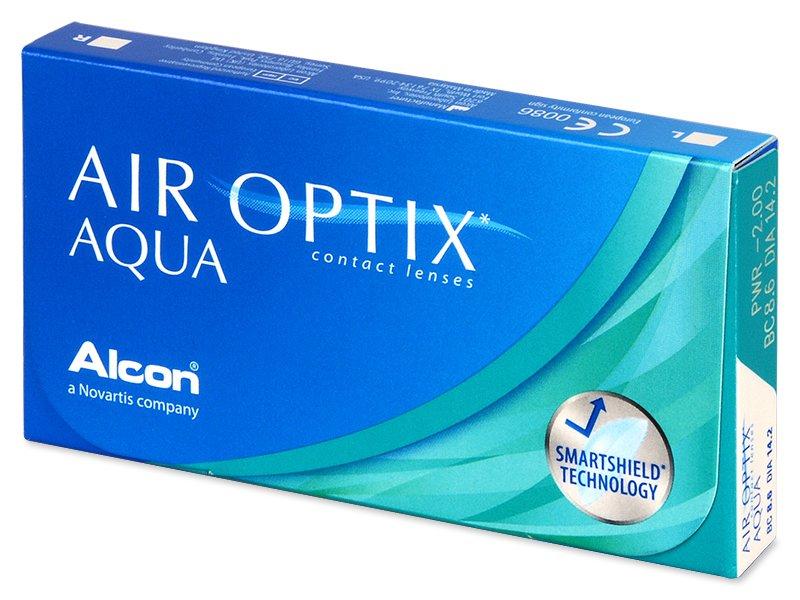 Air Optix Aqua (3leče) - Mesečne kontaktne leče