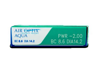Air Optix Aqua (3leče) - Predogled lastnosti