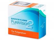 Kontaktne leče Bausch and Lomb - PureVision 2 for Astigmatism (6leč)
