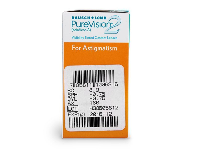 PureVision 2 for Astigmatism (6leč)