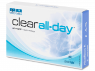 Kontaktne leče ClearLab - Clear All-Day (6 leč)