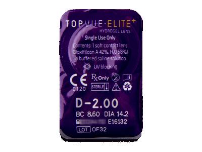 TopVue Elite+ (10 leč) - Predogled blister embalaže