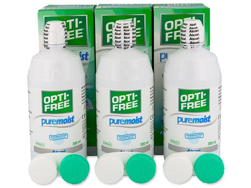 Tekočina OPTI-FREE PureMoist 3x300ml