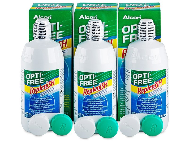 Tekočina OPTI-FREE RepleniSH 3x300ml  - Starejši dizajn