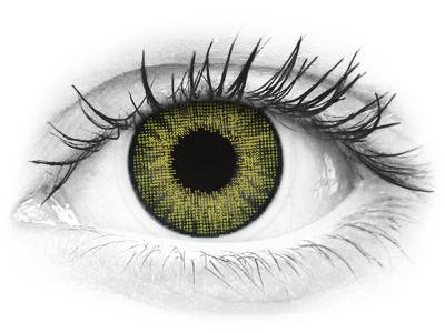 Air Optix Colors - Gemstone Green - brez dioptrije (2 leči)