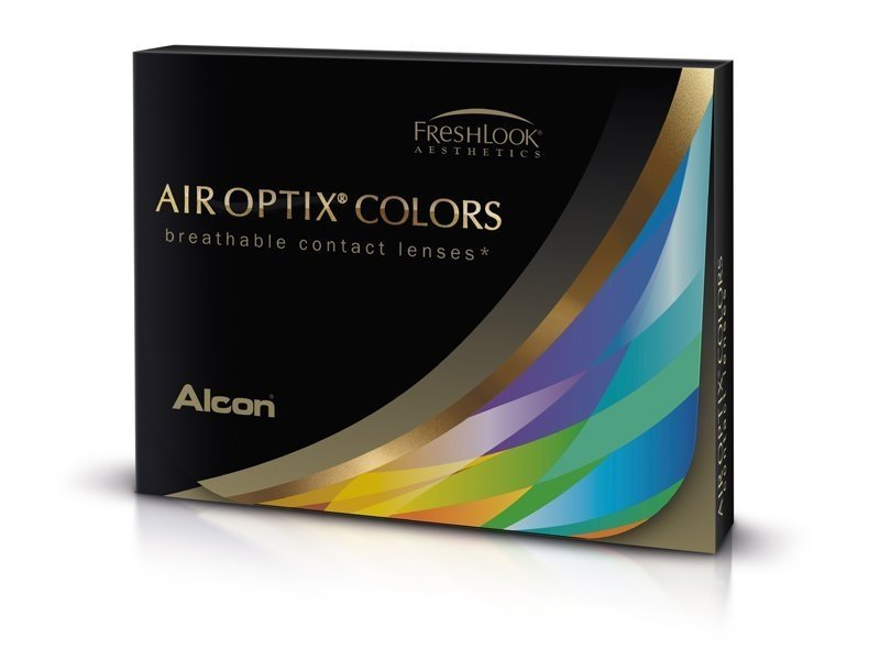 Air Optix Colors - Green - brez dioptrije (2 leči) - Air Optix Colors - Green - brez dioptrije (2 leči)