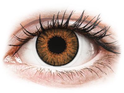 Air Optix Colors - Honey - z dioptrijo (2 leči) - Barvne kontaktne leče