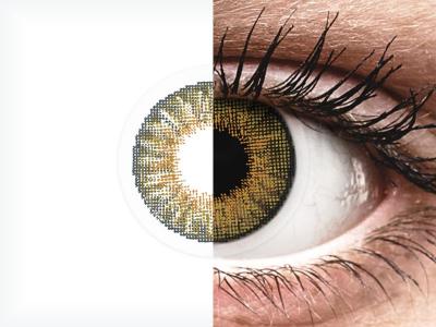 Air Optix Colors - Pure Hazel - brez dioptrije (2 leči)