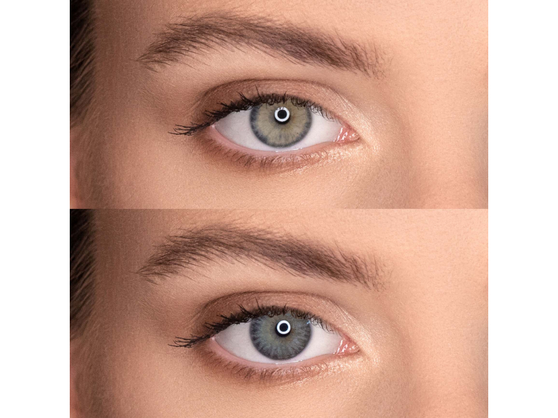Air Optix Colors - Sterling Gray - brez dioptrije (2 leči)