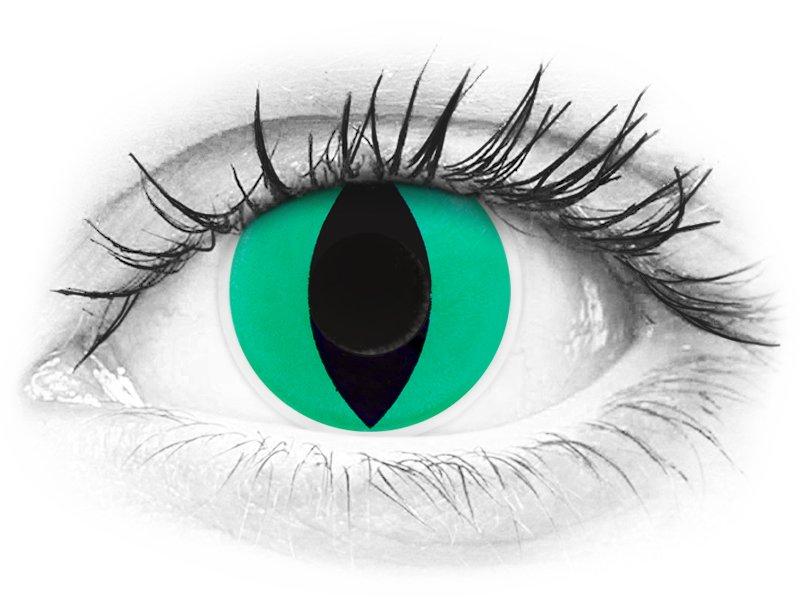 ColourVUE Crazy Lens - Anaconda - brez dioptrije (2 leči) - ColourVUE Crazy Lens - Anaconda - brez dioptrije (2 leči)