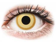 Posebne barvne leče - brez dioptrije - ColourVUE Crazy Lens - Avatar - brez dioptrije (2 leči)