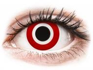 Posebne barvne leče - brez dioptrije - ColourVUE Crazy Lens - Bulls Eye - brez dioptrije (2 leči)