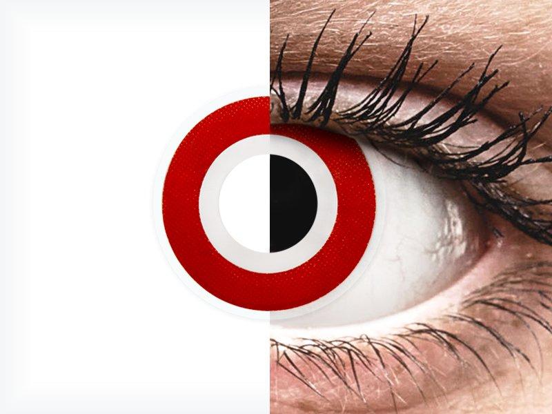 ColourVUE Crazy Lens - Bulls Eye - brez dioptrije (2 leči) - ColourVUE Crazy Lens - Bulls Eye - brez dioptrije (2 leči)
