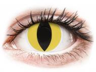 Posebne barvne leče - brez dioptrije - ColourVUE Crazy Lens - Cat Eye - brez dioptrije (2 leči)