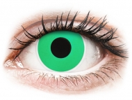 Zelene kontaktne leče - brez dioptrije - ColourVUE Crazy Lens - Emerald (Green) - brez dioptrije (2 leči)