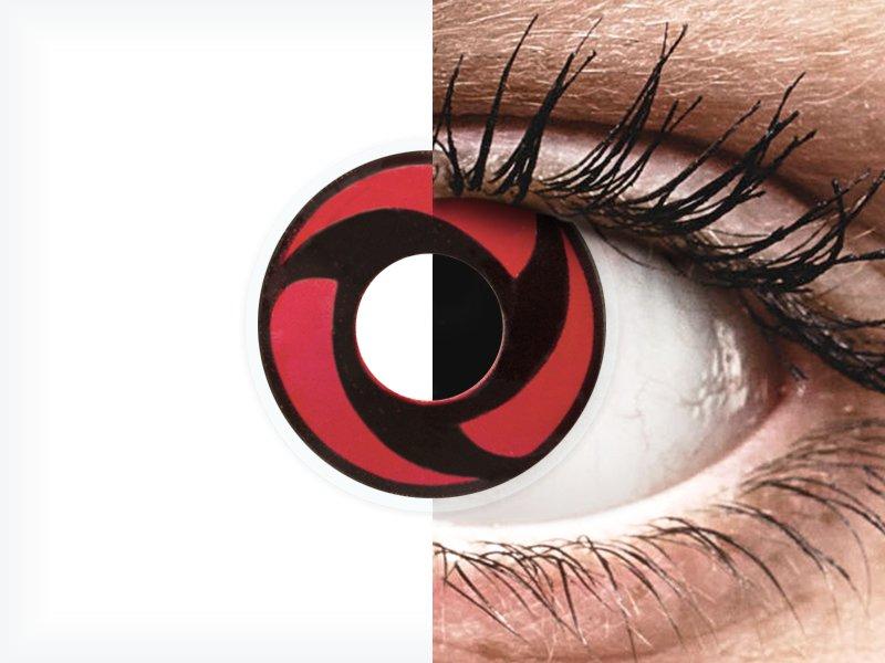 ColourVUE Crazy Lens - Mangekyu - brez dioptrije (2 leči) - ColourVUE Crazy Lens - Mangekyu - brez dioptrije (2 leči)