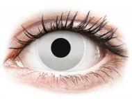 Bele kontaktne leče - brez dioptrije - ColourVUE Crazy Lens - Mirror - brez dioptrije (2 leči)