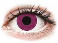 Posebne barvne leče - brez dioptrije - ColourVUE Crazy Lens - Purple - brez dioptrije (2 leči)