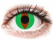 Zelene kontaktne leče - brez dioptrije - ColourVUE Crazy Lens - Raptor - brez dioptrije (2 leči)