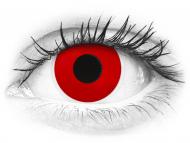 ColourVUE Crazy Lens - Red Devil - brez dioptrije (2 leči)