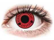 Posebne barvne leče - brez dioptrije - ColourVUE Crazy Lens - Sasuke - brez dioptrije (2 leči)