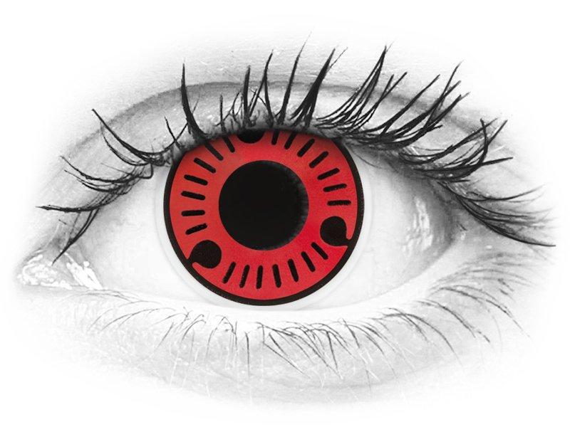 ColourVUE Crazy Lens - Sasuke - brez dioptrije (2 leči) - ColourVUE Crazy Lens - Sasuke - brez dioptrije (2 leči)
