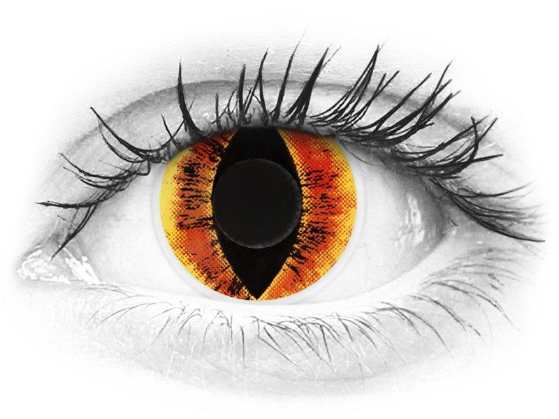 ColourVUE Crazy Lens - Saurons Eye - brez dioptrije (2 leči) - ColourVUE Crazy Lens - Saurons Eye - brez dioptrije (2 leči)