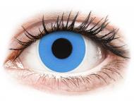 Posebne barvne leče - brez dioptrije - ColourVUE Crazy Lens - Sky Blue - brez dioptrije (2 leči)