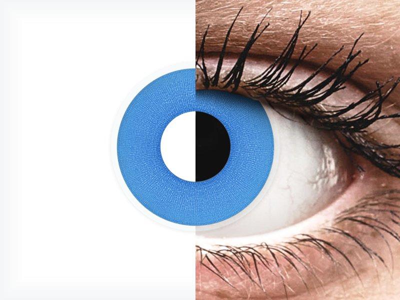 ColourVUE Crazy Lens - Sky Blue - brez dioptrije (2 leči) - ColourVUE Crazy Lens - Sky Blue - brez dioptrije (2 leči)