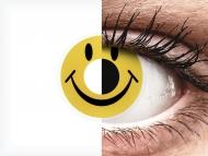 ColourVUE Crazy Lens - Smiley - brez dioptrije (2 leči)