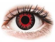 Posebne barvne leče - brez dioptrije - ColourVUE Crazy Lens - Volturi - brez dioptrije (2 leči)
