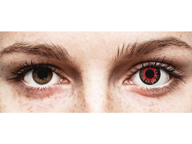 ColourVUE Crazy Lens - Volturi - brez dioptrije (2 leči)