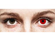 ColourVUE Crazy Lens - Red Devil - z dioptrijo (2 leči)