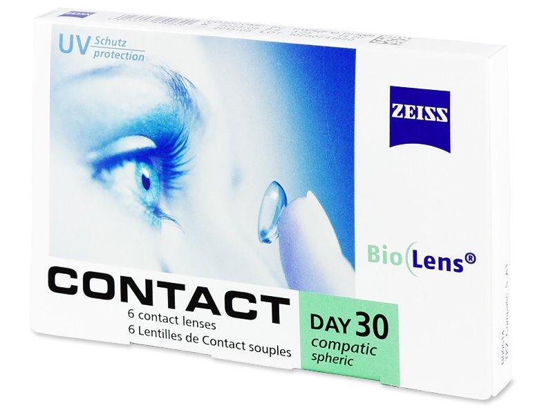 Contact Compatic Day 30 (6leč) - Mesečne kontaktne leče