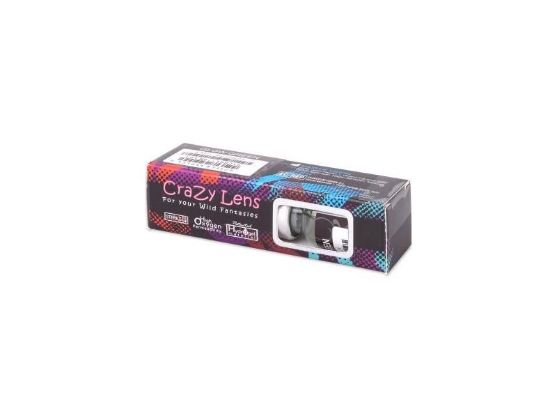 ColourVUE Crazy Glow Blue - brez dioptrije (2 leči)