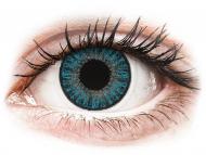 Modre kontaktne leče - brez dioptrije - TopVue Color daily - Blue - brez dioptrije (10 leč)