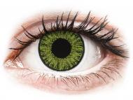 Zelene kontaktne leče - z dioptrijo - TopVue Color daily - Fresh green - z dioptrijo (10 leč)