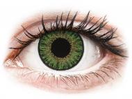 Zelene kontaktne leče - brez dioptrije - TopVue Color daily - Green - brez dioptrije (10 leč)