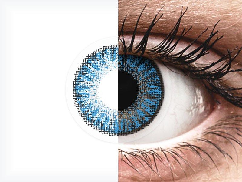 TopVue Color daily - Sapphire Blue - brez dioptrije (10 leč)