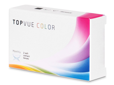 TopVue Color - True Sapphire - brez dioptrije (2 leči)