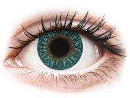 Zelene kontaktne leče - brez dioptrije - TopVue Color - Turquoise - brez dioptrije (2 leči)
