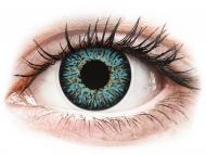 Barvne kontaktne leče z dioptrijo - ColourVUE Glamour Aqua - z dioptrijo (2 leči)