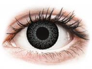 Sive kontaktne leče - brez dioptrije - ColourVUE Eyelush Grey - brez dioptrije (2 leči)
