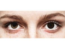 ColourVUE Eyelush Choco - z dioptrijo (2 leči)