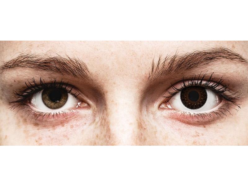 ColourVUE Eyelush Choco - z dioptrijo (2 leči) - ColourVUE Eyelush Choco - z dioptrijo (2 leči)