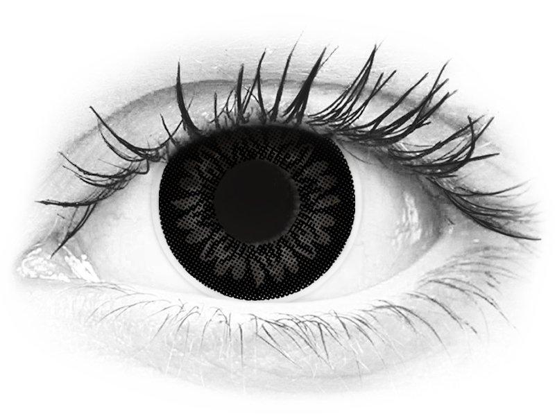 ColourVUE BigEyes Dolly Black - z dioptrijo (2 leči) - ColourVUE BigEyes Dolly Black - z dioptrijo (2 leči)