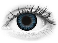 ColourVUE BigEyes Cool Blue - z dioptrijo (2 leči)