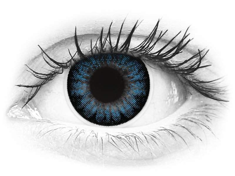 ColourVUE BigEyes Cool Blue - z dioptrijo (2 leči) - ColourVUE BigEyes Cool Blue - z dioptrijo (2 leči)