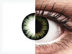 ColourVUE BigEyes Party Green - brez dioptrije (2 leči)